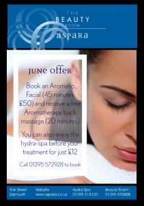Aspara - Aspara - mind body soul - June Special Offer